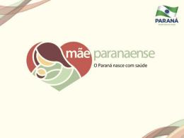 Apresentação Encontro Rede Mãe Paranaense - Norte