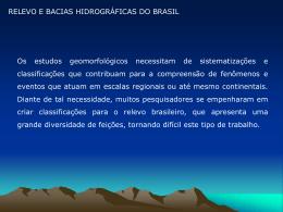 Bacia Amazônica - Universidade Castelo Branco