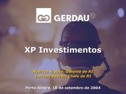 XP Investimentos - Setembro