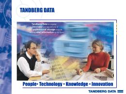 SLR Autoloader - Tandberg Data Americas