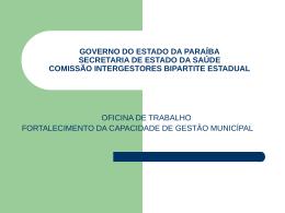 Comissão Intergestores Bipartite Estadual