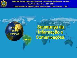 Departamento de Segurança da Informação e Comunicações (DSIC)