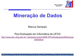 Algoritmos de Mineração de Dados