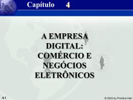 O que é comércio eletrônico?