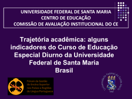 Recorte da Autoavaliação Institucional da UFSM: análise do