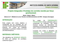 desenvolvido pela professora Francieli - Wiki do IF-SC