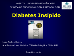 Diabetes Insípido Central - CEM-HUSJ