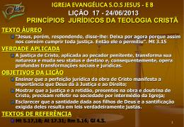 Princípios jurídicos da teologia cristã