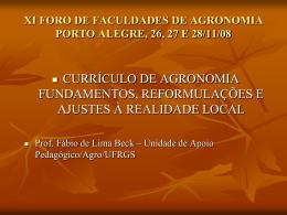 IX FORO DE DECANOS PORTO ALEGRE, 26, 27 E 28/11/08