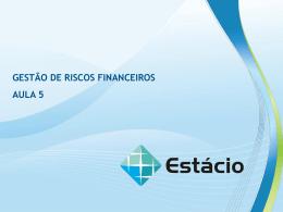 modelo capm gestão de riscos financeiros aula 5 aula 5