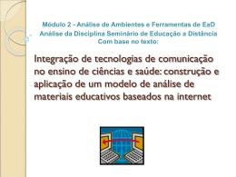 Integração de tecnologias de comunicação no