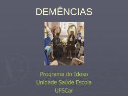 aula preparada pelos profissionais do Programa do Idoso da UFSCar