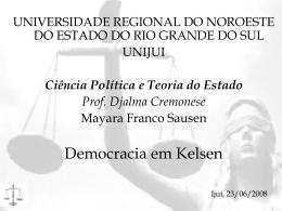 Democracia em Kelsen