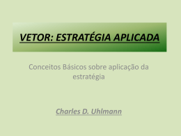 vetor - METODOLOGIAS aplicáveis em Bolsa de Valores