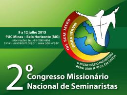Cartilha do 2° Congresso Missionário Nacional de