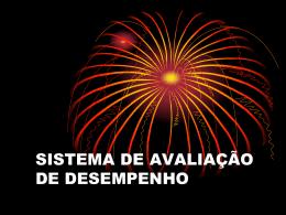 SISTEMA DE AVALIAÇÃO DE DESEMPENHO