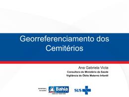 Georreferenciamento dos Cemitérios