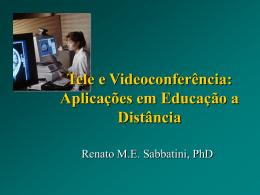 Tele e Videoconferência: Aplicações em