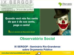 Observatório Social