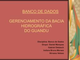 BANCO DE DADOS_Apresentação