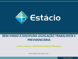 Slide 1 - Campus Virtual Estácio