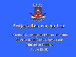 Slide sem título - Ministério Público do Estado da Bahia