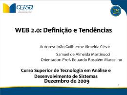 TCCApresentaç_Semestre2de2009 - tcc