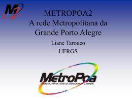 apres_p-metropoa2 - Rede Nacional de Ensino e Pesquisa