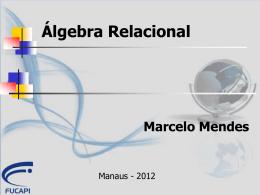 AULAS - C2 - Algebra Relacional