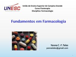 Conceitos básicos em Farmacologia