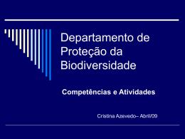 Departamento de Proteção da Biodiversidade