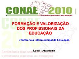 Palestra - Profª. Especialista Silvinia Pereira de Sousa Pires