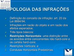 Restrições Horizontais II-III