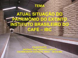 TEMA ATUAL SITUAÇÃO DO PATRIMÔNIO DO EXTINTO