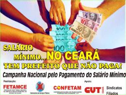 Campanha Nacional para o Pagamento do Salário