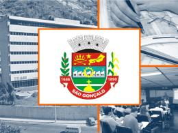 Apresentação do PowerPoint - Prefeitura de São Gonçalo