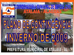 PLANO DE CONTIGÊNCIA PARA INVERNO 2006