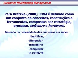 2. CRM / Sistemas Especialistas