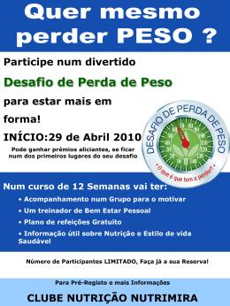 Poster Desafio Perda de Peso