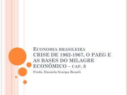 ECONOMIA BRASILEIRA CRISE DE 1962