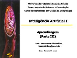 Slides 1 - Computação UFCG - Universidade Federal de Campina