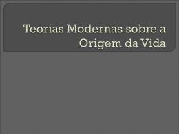 9º Ano - Origem da V..
