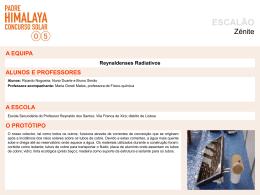 SuperColector/Reynaldenses Radiativos
