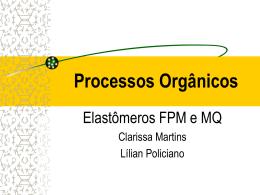 Elastomeros FPM e MQ