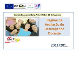RADD em Powerpoint - Página Agrupamento Dr. Francisco Sanches