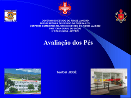 Aula de pe TenCel Jose - 3ª Policlínica do CBMERJ