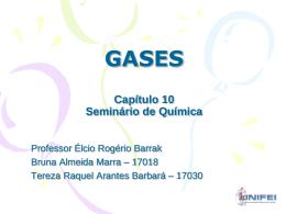 GASES Seminário de Química