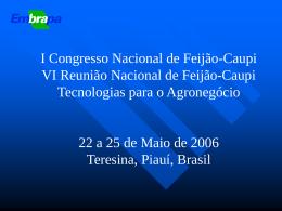 Minicurso Ecofisiologia e Manejo-1 - Embrapa Meio
