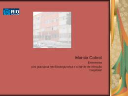 Marcia cabral - Saúde-Rio