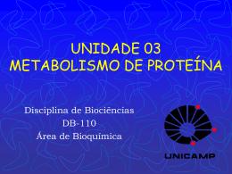 T10 - Biossíntese de Proteínas